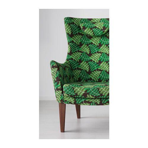 Stockholm fauteuil haut mosta vert ikea greens deco - Ikea chaise stockholm ...