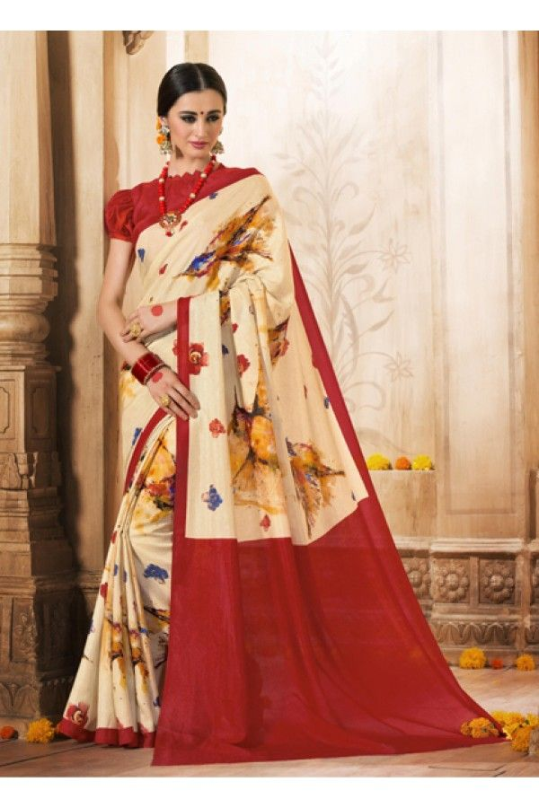 Ethnic Wear Multi-Colour Silk Saree  - VARSIDDHI-3501