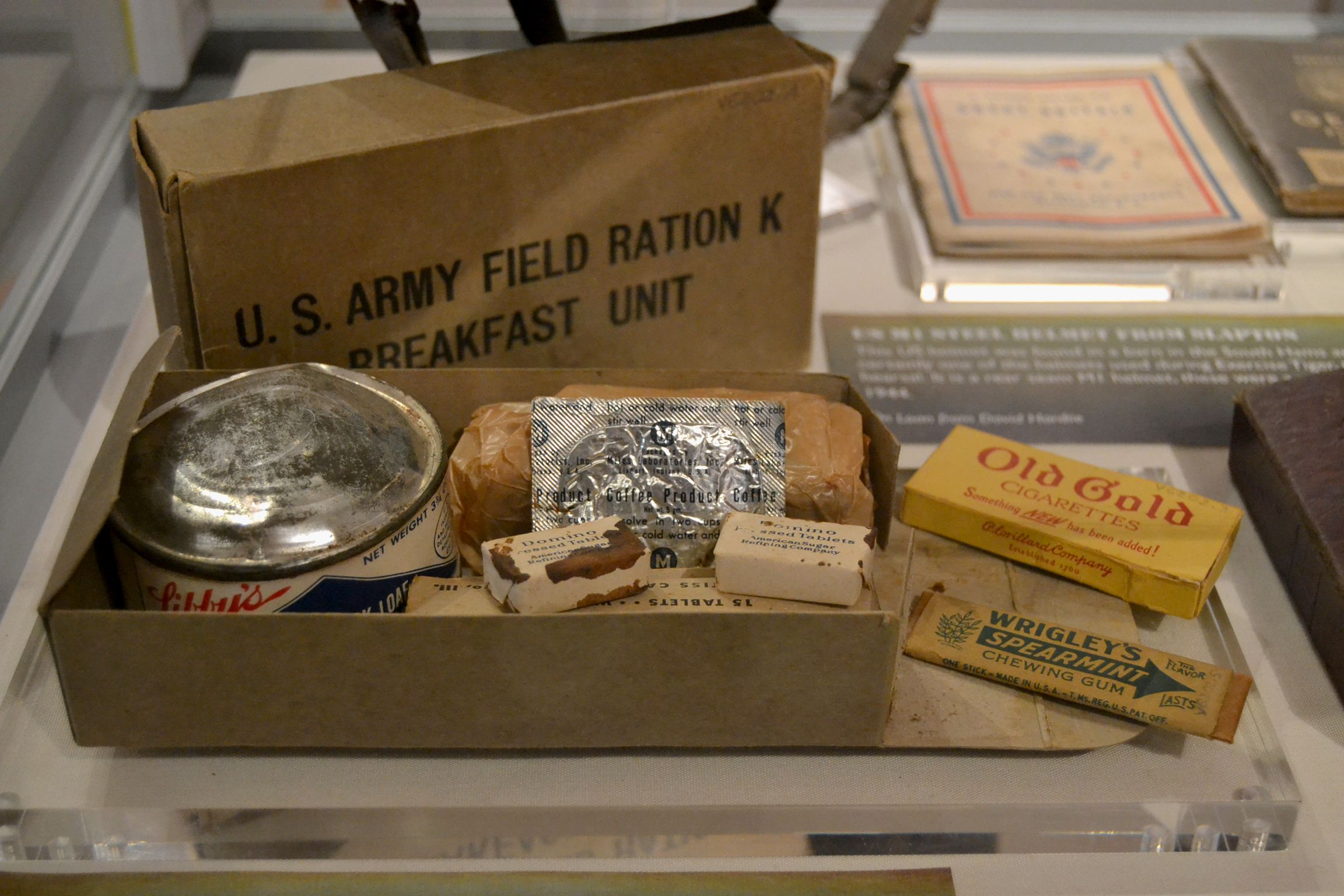 US Army field ration: \