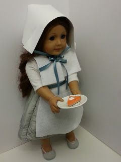 American Girl Doll Crafts and Fun!: Craft: Make a Pilgrim Costume for Your Doll