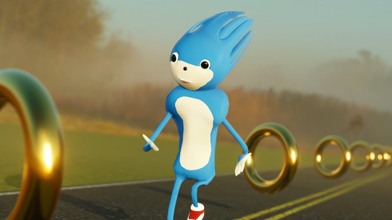 Sonic The Hedgehog Improved Trailer Youtube Sonic Sonic The