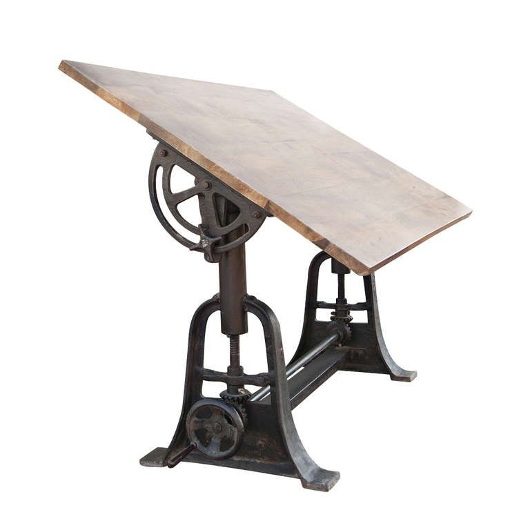 Awesome Professional Industrial Adjustable Drafting Table