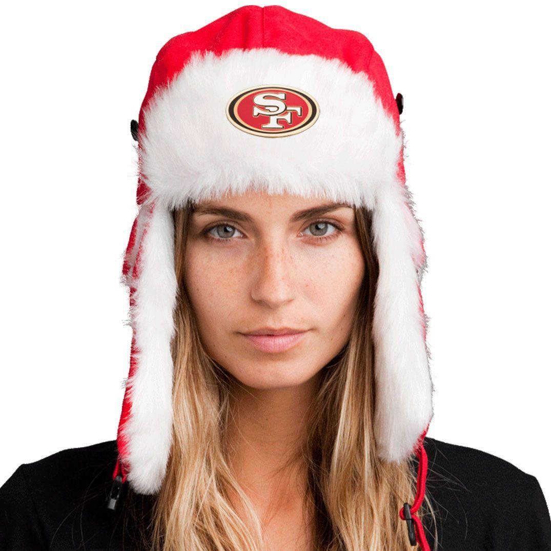 Bomber Hat + FREE San Francisco 49ers Pin ($8 value!)