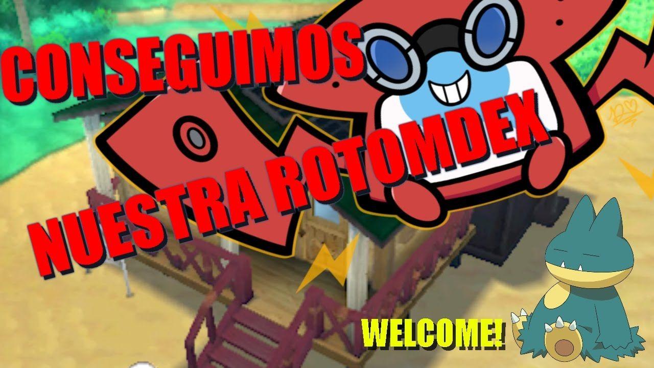 POKEMON LUNA    Ep.3 Conseguimos nuestra ROTOMDEX! Bienvenido MUNCHLAX^^...