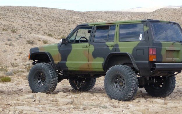 My Budget Build The Four Angry Squirrels Jeep Cherokee Forum