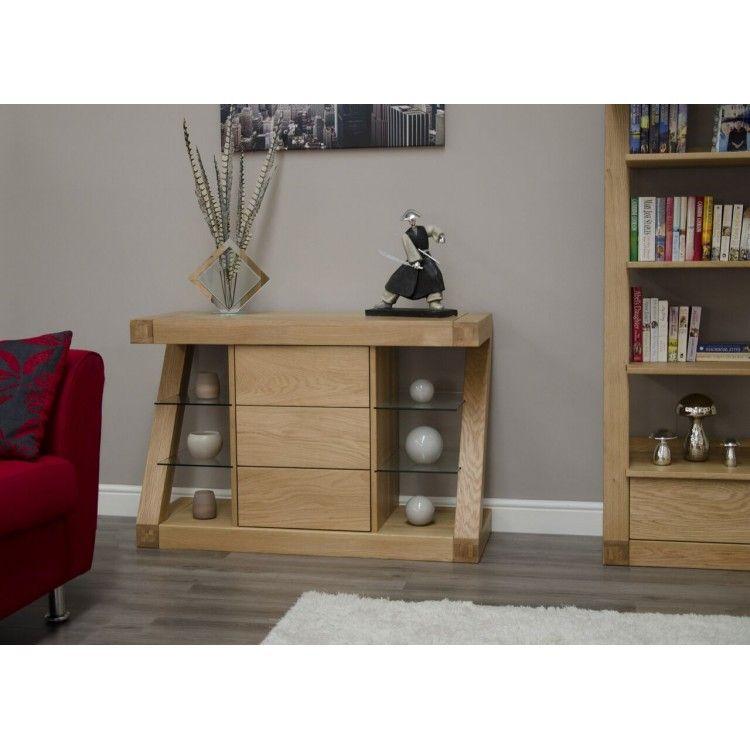 Z Solid Oak Furniture Small Sideboard Small Sideboard Oak