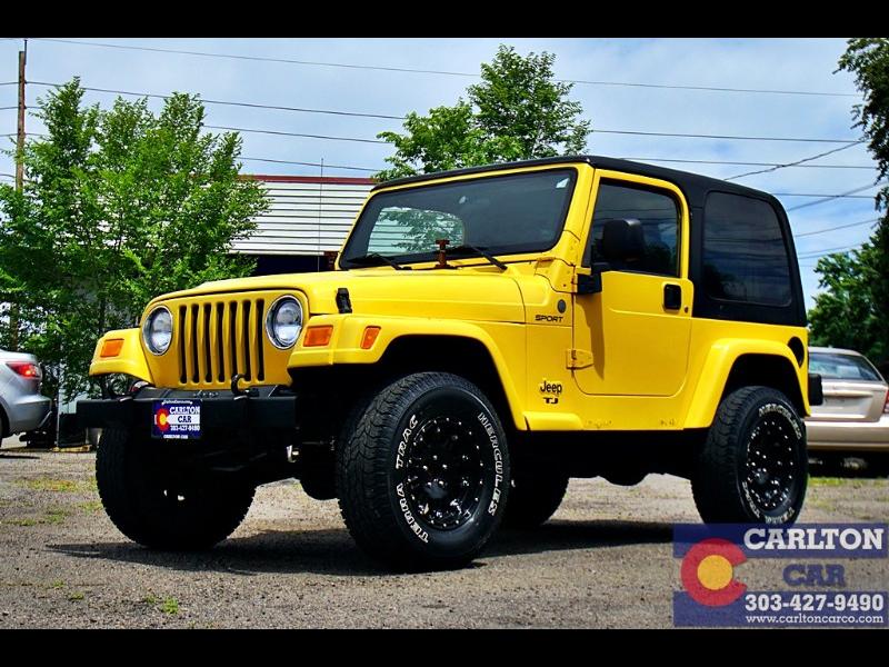 Used 2004 Jeep Wrangler Sport For Sale In Denver Co 80214 Carlton Car Co 2004 Jeep Wrangler Jeep Wrangler Used Suv