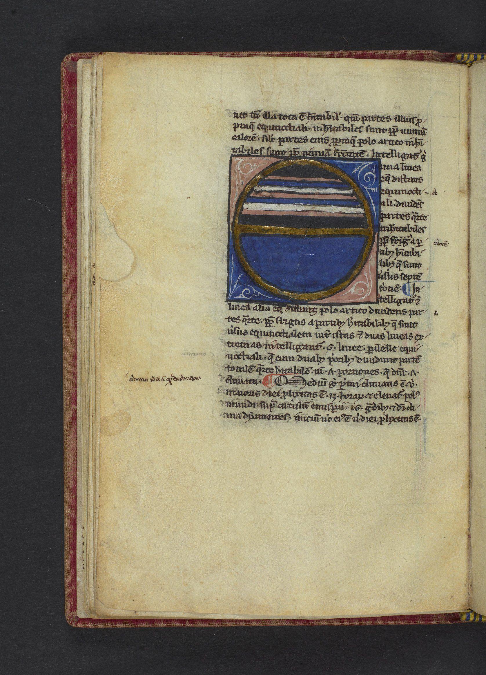 Lawrence J. Schoenberg Collection: LJS 216 - Sacro Bosco, Joannes de, active 1230 - Tractatum de spera ... [etc.]
