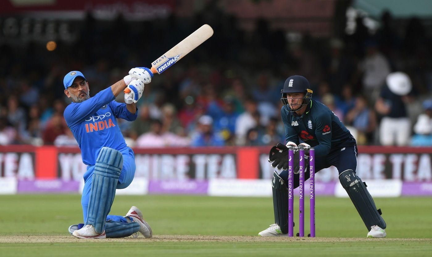 Dhoni 4th indian batsman to score 10000 runs in