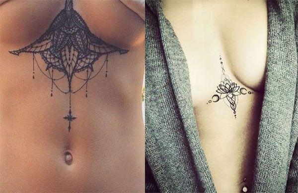 Resultado De Imagen Para Tatuaje En El Pecho Mujer Tattoo Ideas