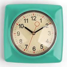 Image Result For Retro Kitchen Clocks Retro Wall Clock