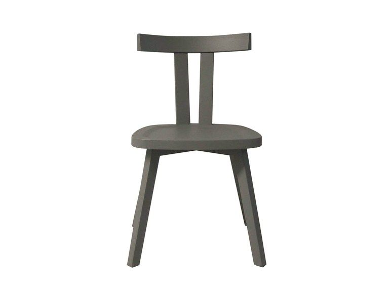 Wooden chair GRAY 23 by Gervasoni design Paola Navone