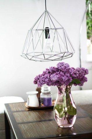 Diamant Lampe Diy Lampen Diy Deko Und Kreativ