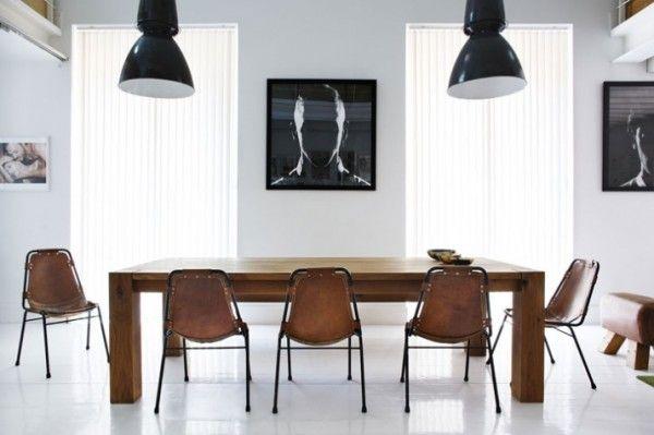 Deflin + Postigo Residence | Madrid, Spain | Interior Design  [provocative artwork, elegance, modern furnishing, high ceilings]