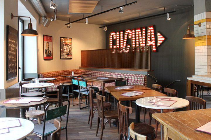 l osteria am gasteig italian restaurant by dippold innenarchitektur gmbh munich retail design. Black Bedroom Furniture Sets. Home Design Ideas