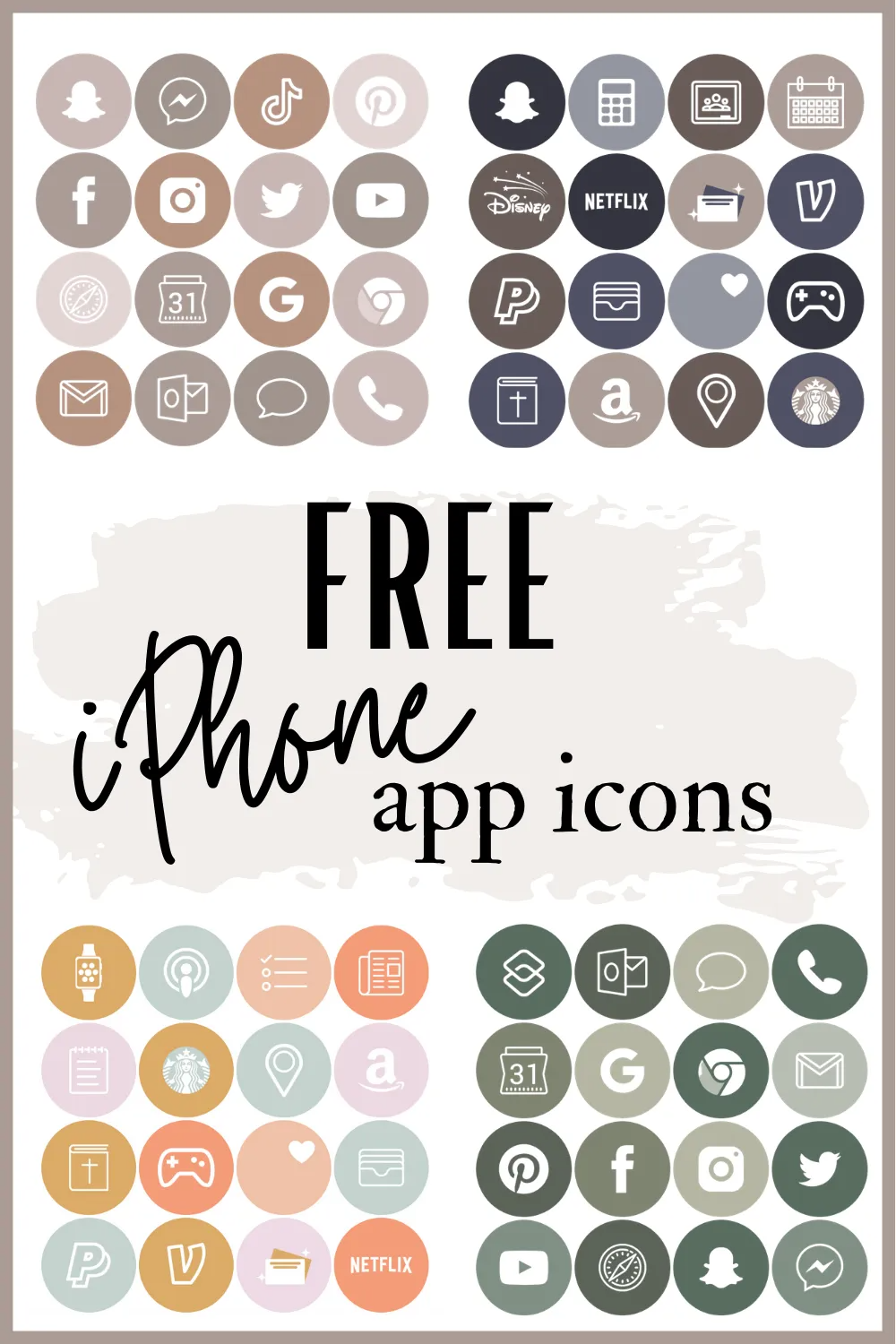 Free iPhone App Icons | Guitar & Lace