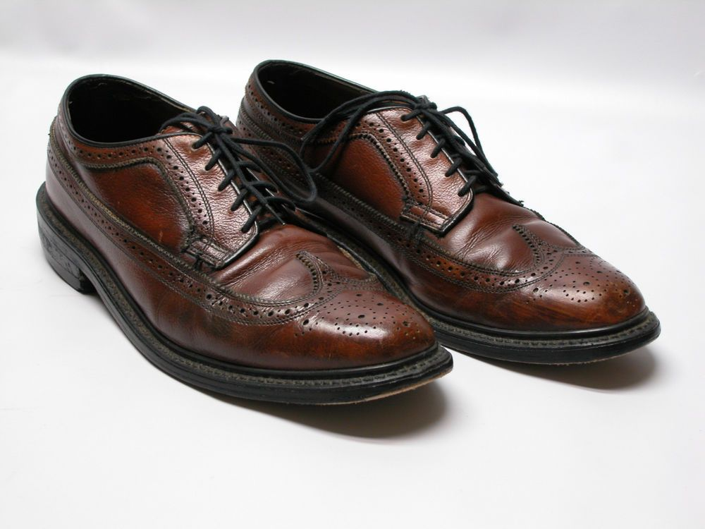 Details about Men's Tommy Hilfiger 9.5 Cordovan Lace Up Oxfords Dress or Casual Shoes REDUCED!