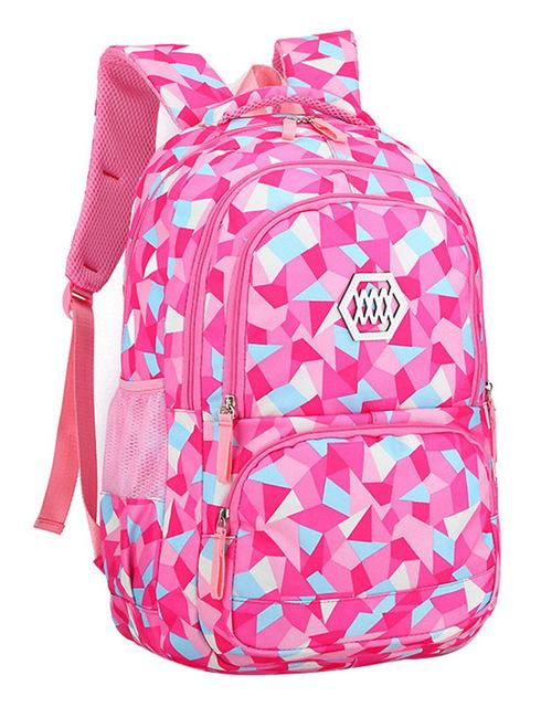 f614cd6615ad Fashion Girl School Bag Waterproof light Weight Girls Backpack bags  printing backpack child