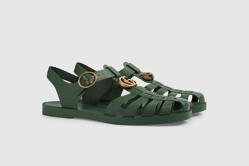 6d589f818cf2df Luxurious Tonal Summer Sandals   gucci sandals