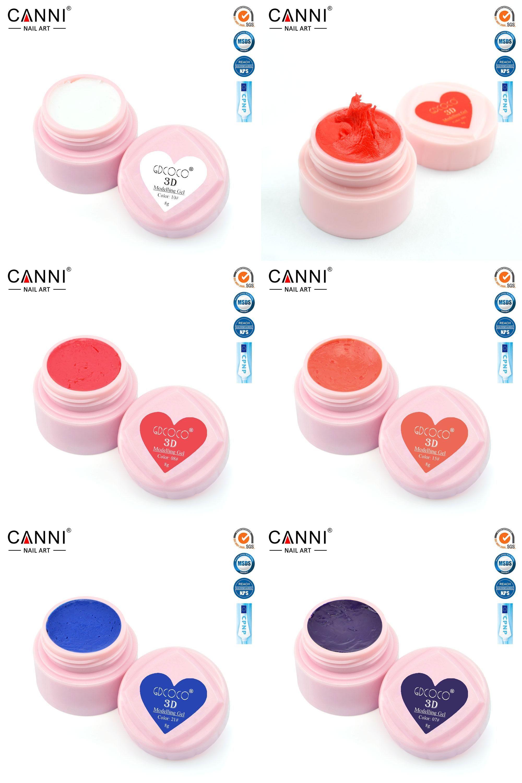 Visit To Buy 40261 Canni 3d Modelling Gel Flower Builder Gel Nail