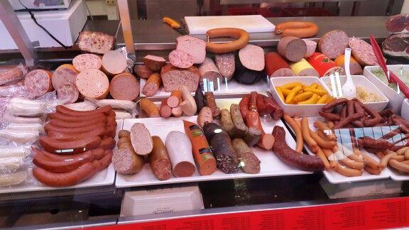 Mercado en Franfurt Alemania