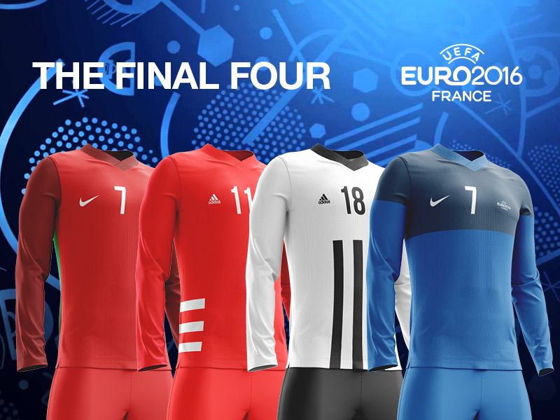 The Final Four // Retro Kit Collection by  StudioJQ  #Design Popular #Dribbble #shots