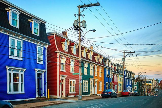 Pin for Later: 11 Colourful Cities You Must Put on Your Bucket List St. John's, Newfoundland, Canada