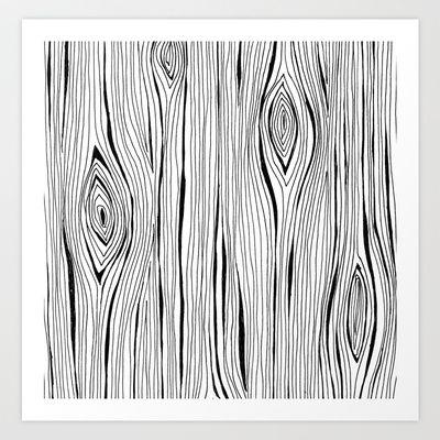 wood grain Art Print by stacey walker oldham - $17.68 ...