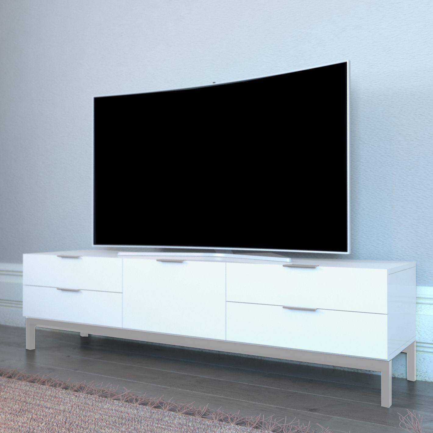 Pin By Abreo Furniture On Modern Tv Stands Pinterest Tv Stands  # Meuble Tv Alphason