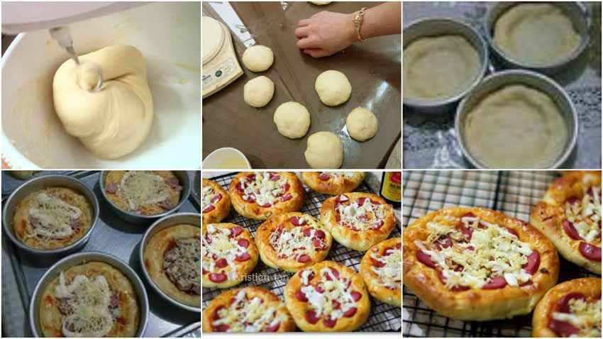 Inilah Resep Membuat Roti Pizza Mini Yang Super Empuk Dan Lezat Banget Coba Yuk Bun Resep Pembuat Roti Resep Masakan