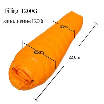 Ultra Light Goose Down All Season Sleeping Bag