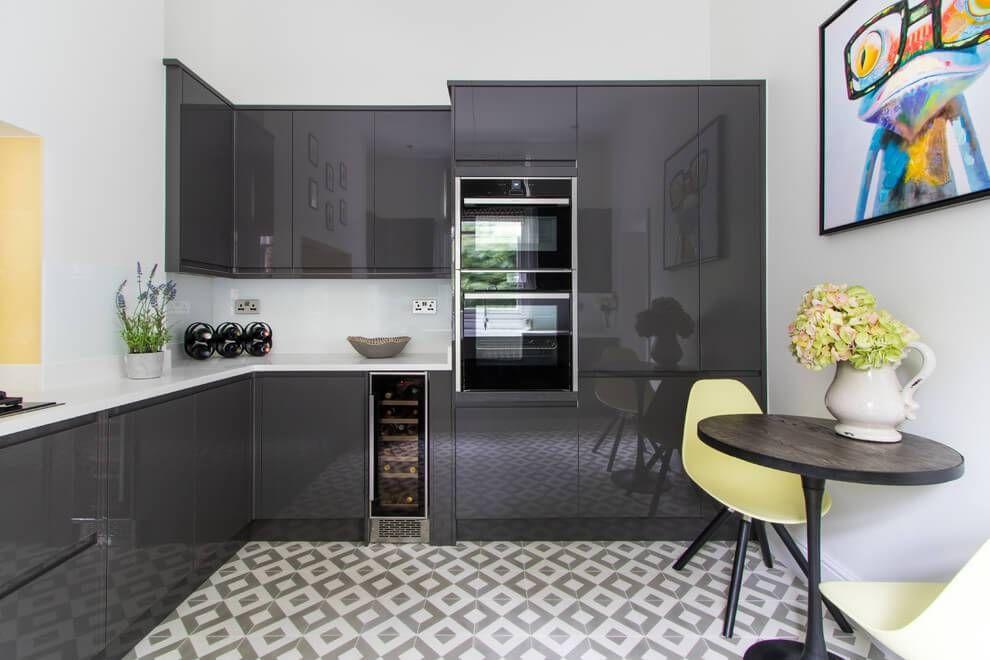 Metallics Kitchen Cabinet Ideas | New kitchen cabinets ...