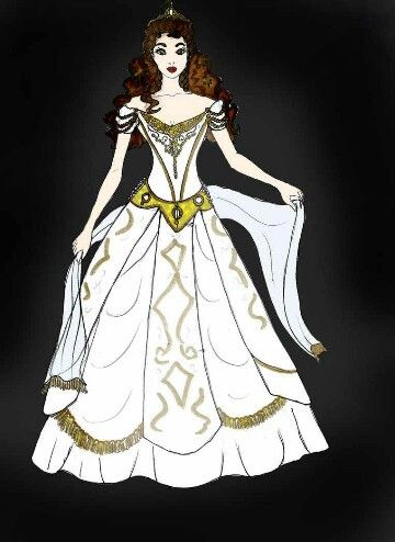 Christine Think of me - Movie dress