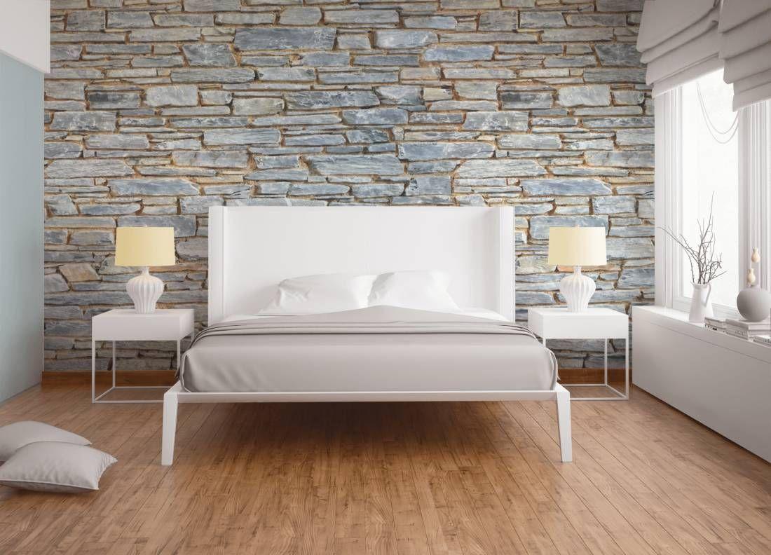 Steintapeten passen einfach in jeden in Raum.... #steintapeten ...