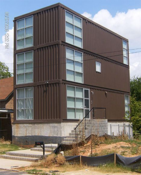 Container Homes - The History - House Containers
