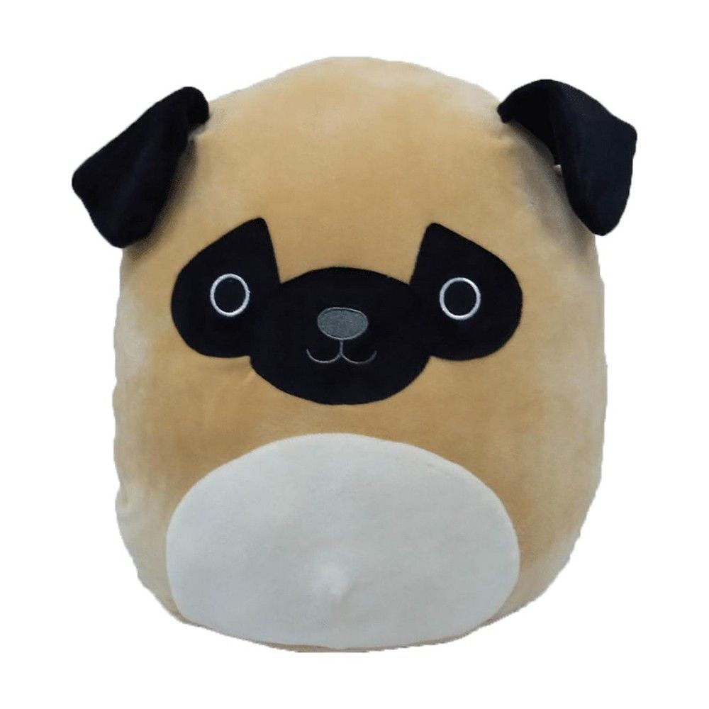 Kelly Toys Squishmallow 16 Inch Pillow Pet Plush Brown Pug Animal Pillows Cute Stuffed Animals Cat Facts