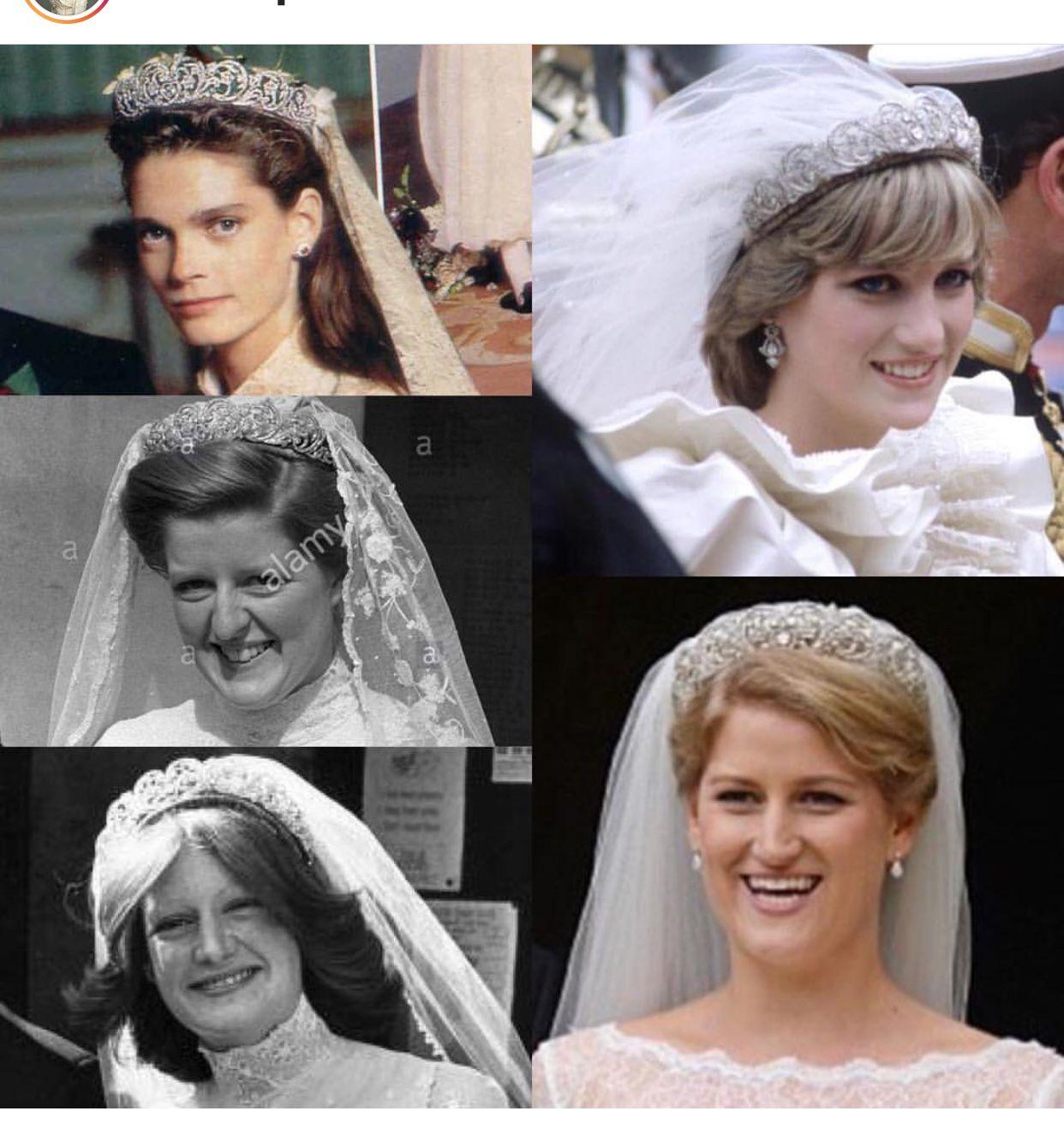 The Spencer Bridal Tiara Princess Diana Wedding Royal Weddings
