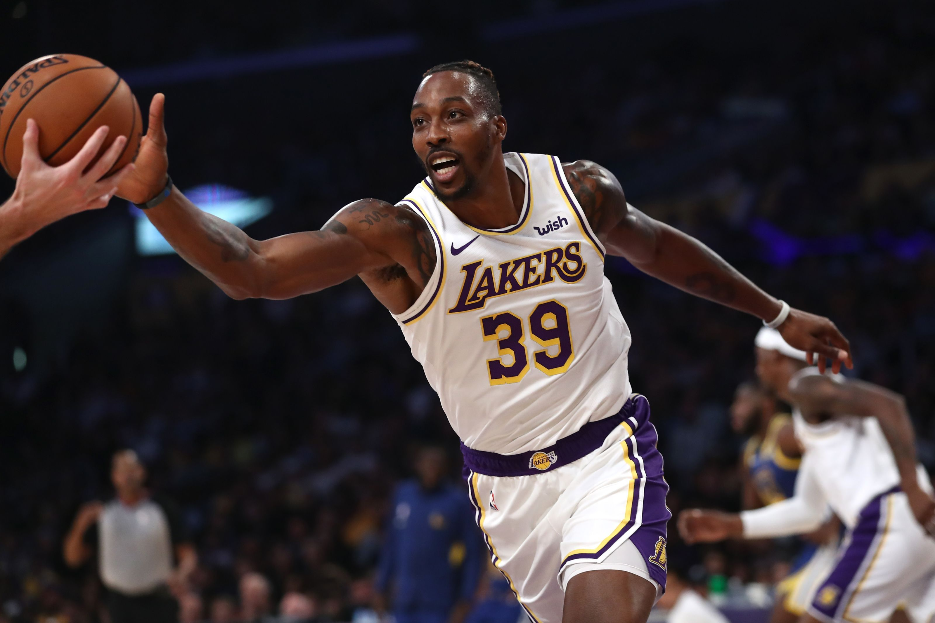 Los Angeles Lakers Dwight Howard Is Enjoying A Defensive Awakening National Basketball Association News Nba News National Basketball Association Nba Scores