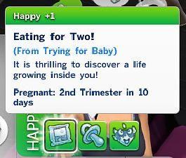 The Sims 4 - Longer/Shorter Pregnancy Length Gameplay Mod