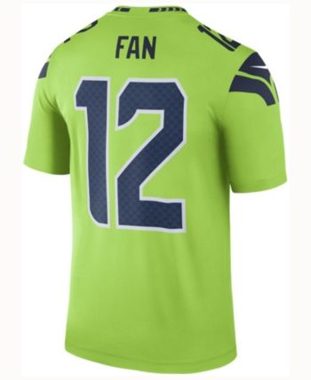 brand new d1bad fcecb Men's 12th Man Seattle Seahawks Legend Color Rush Jersey in ...