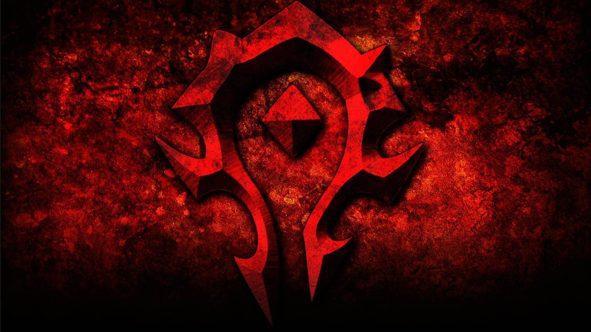 Horde Logo Wallpapers Wallpaper Cave World Of Warcraft Wallpaper Warcraft Art World Of Warcraft