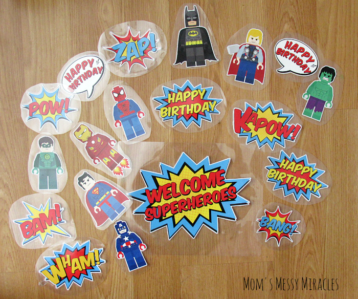 LEGO Superhero Party | Superhero party decorations, Superhero ...