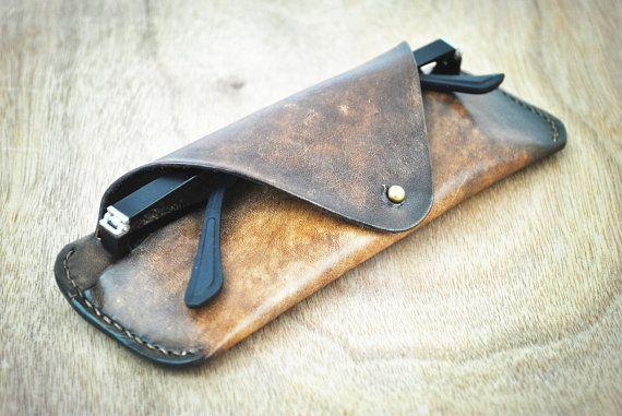 Brown Leather Glasses Case Glasses Holder Glasses Organizer Glasses Case Hard Glasses Bag Personalized Gifts For Men LT586
