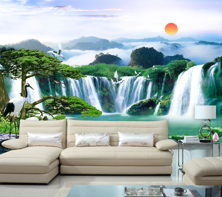 Paisajes Para Pintar En Una Pared Buscar Con Google Paisaje Para Pintar Muebles De Comedor Modernos Paisajes