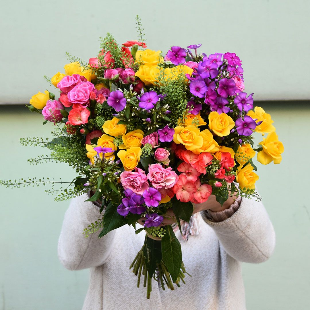 Osez La Couleur A La Fois Elegant Et Festif Ce Bouquet Sera