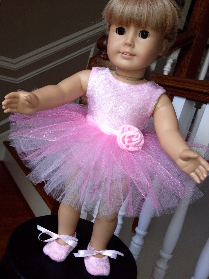796a63b2a Pink Ballerina Outfit for the American Girl Doll by ...