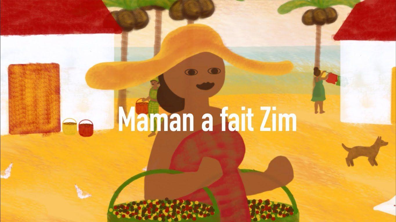 Zim Zim Zim Avec Magguy Cueillir Les Grains Rouges Jaunes Et Noirs Aux Couleurs Du Soir Est Un Regal