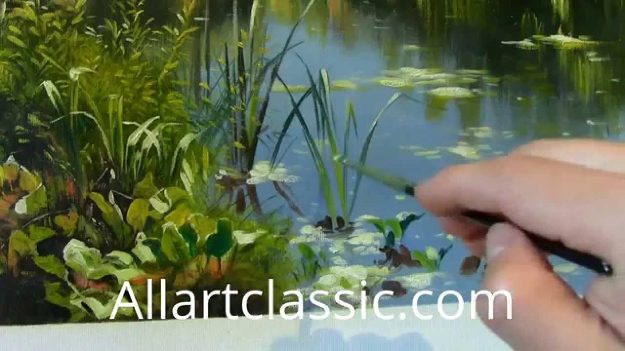 Painting a Landscape Scene   Peder Mork Monsted