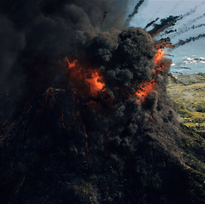 Volcano - Jurassic World: Fallen Kingdom | Jurassic Park | Jurassic