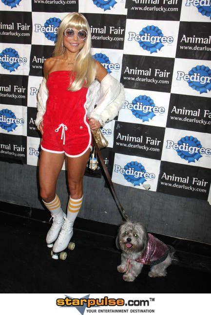 Bethenny Frankel Halloween Girl Roller Girl Terry Romper